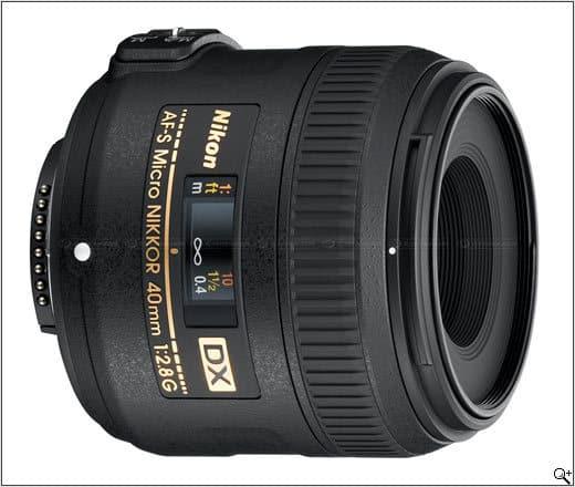 Nikon releases New 40mm Macro