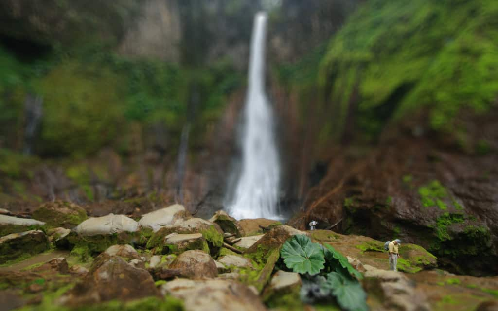 Waterfall with Tilt Shift Effect - Topaz Labs created by Jeff Wendorff