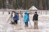 Jeff Wendorff's Winter Wildlife Workshop Photographers