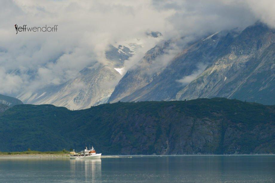 Sea Wolf - Reid Inlet - Glacier Bay Alaska photographed by Jeff Wendorff
