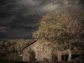Stormy Weather Vermont Farm painted with Topaz Impression - Photo Painting II