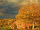 Stormy Weather Vermont Farm painted with Topaz Impression - Chalk Pastel II
