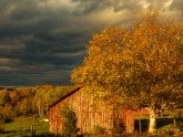 Original Stormy Weather Vermont Farm Photograph by Jeff Wendorff