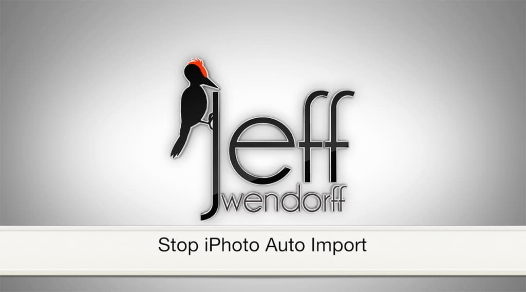 How To: Stop iPhoto Auto Import