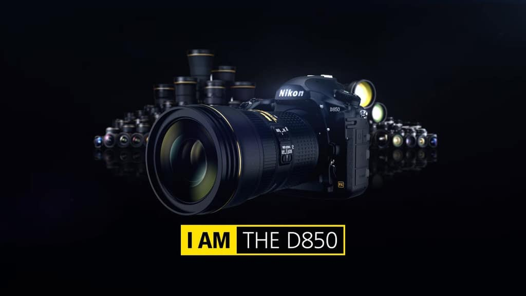 Image of Nikon's latest and greatest camera the D850