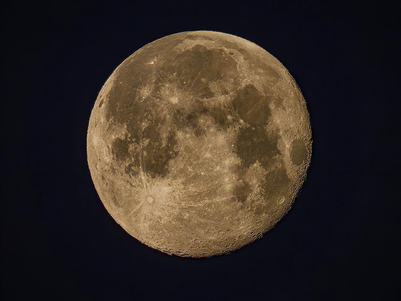 P1000 Lunar Photography 2000mm Jeff Wendorff