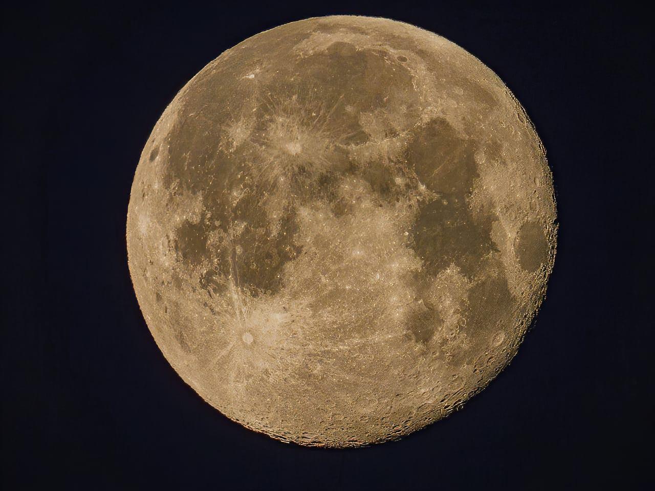 P1000 Lunar Photography 2500mm Jeff Wendorff