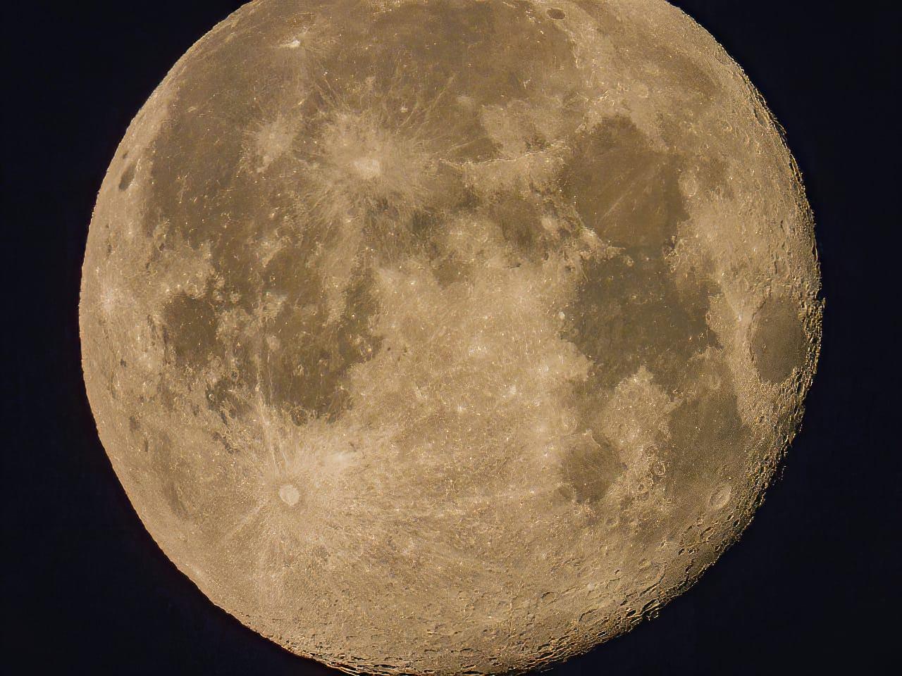 P1000 Lunar Photography 3000mm Jeff Wendorff