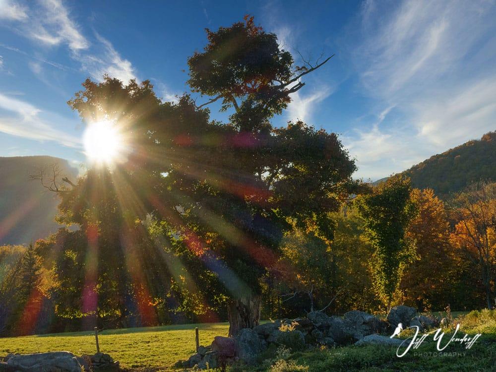 Sunburst Vermont After